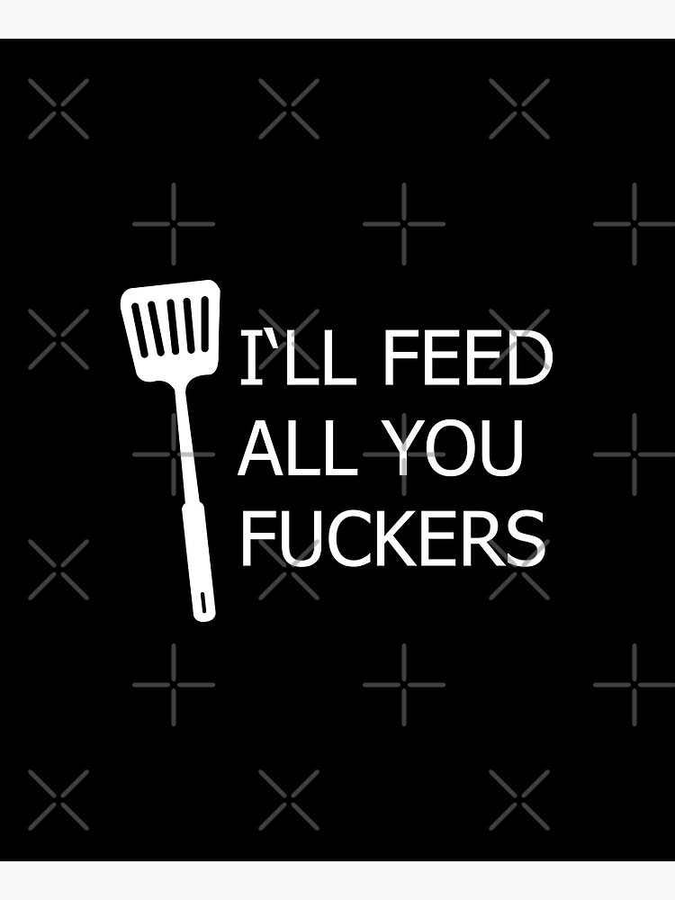 i'll feed all you apron by animebrands