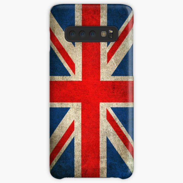 Old and Worn Distressed Vintage Union Jack Flag Samsung Galaxy Snap Case