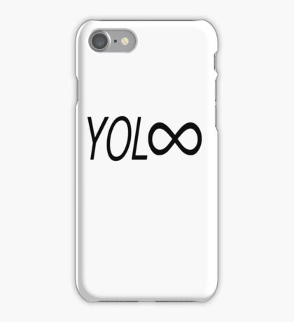 YOL∞ / You Only Live Forever iPhone Case/Skin