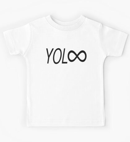 YOL∞ / You Only Live Forever Kids Clothes