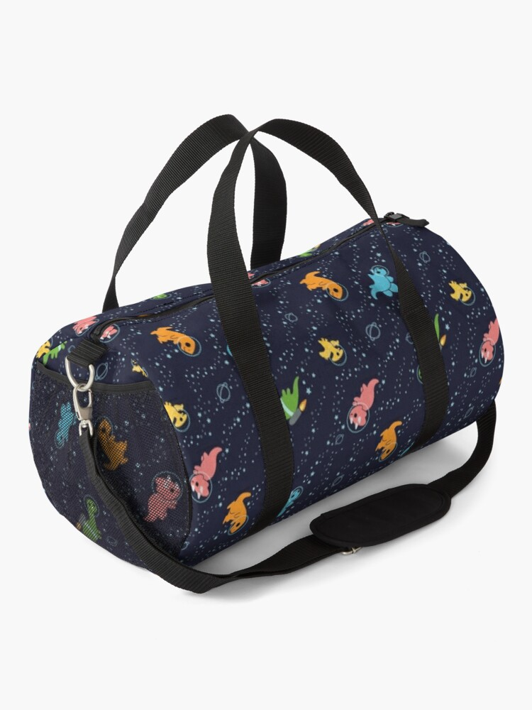 Alternate view of Dinosaurs In Space Duffle Bag