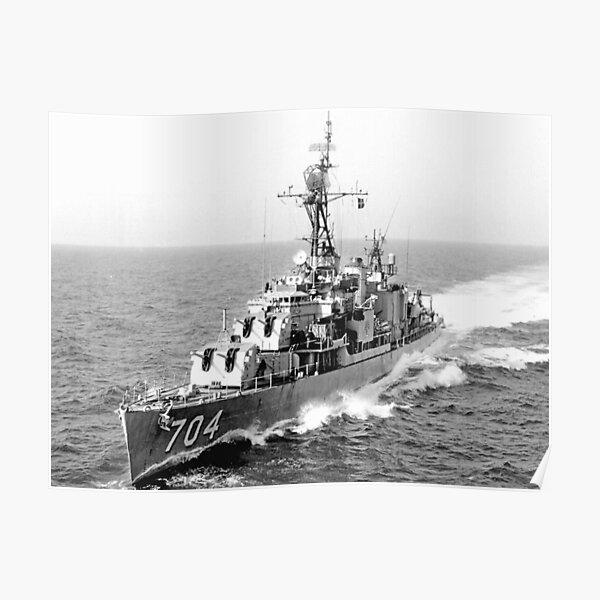 USS BORIE (DD-704) SHIP'S STORE Poster