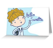 DW: Hello Sweetie Greeting Card