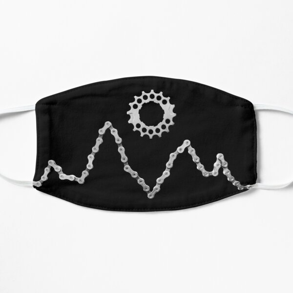 Bike Chain Mountains Mask