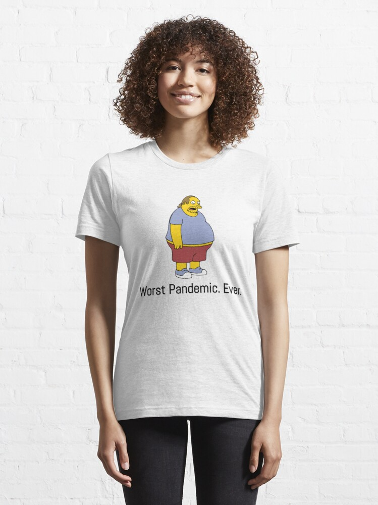 Alternate view of Worst Pandemic ever! (Comic book guy) Essential T-Shirt