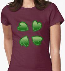 4chan logo Women's Fitted T-Shirt