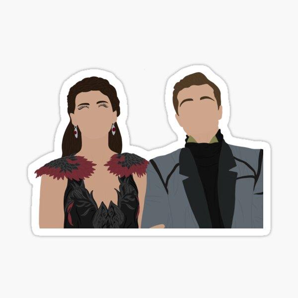 Katniss & Peeta: Catching Fire! Sticker Sticker