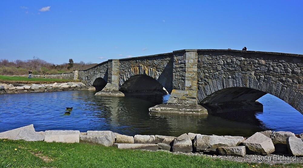 Old foot bridge ! by Nancy Richard