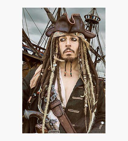Captain Jack Sparrow  Photographic Print