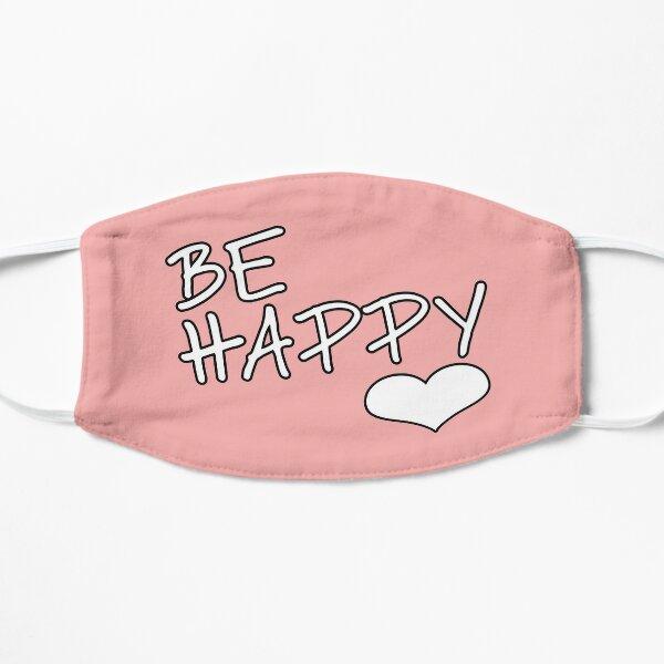 soyez heureux White Heart 2020 Masque sans plis