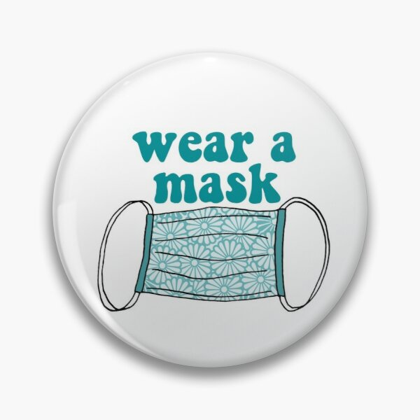 wear a mask Pin