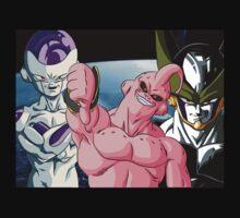 Dragonball Z Frieza, Majin Buu & Cell | Unisex T-Shirt