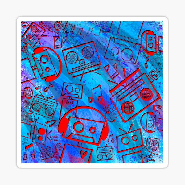 Boombots - Boombox Sticker