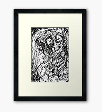 084 Framed Print