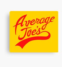 Average Joe's Canvas Print
