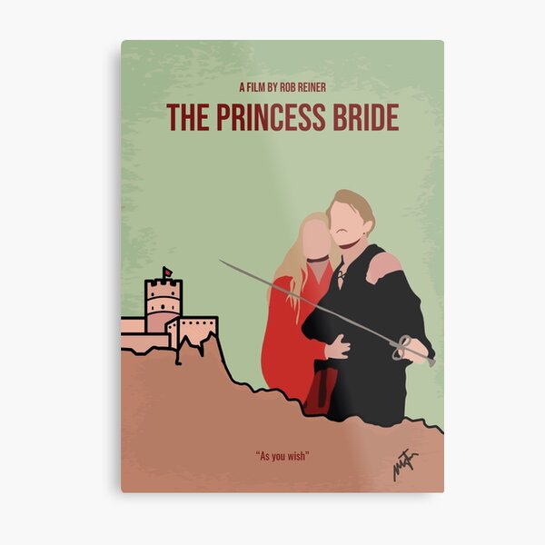 Princess Bride Movie- minimal Metal Print