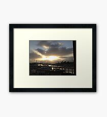 Oceanside Harbor Framed Print