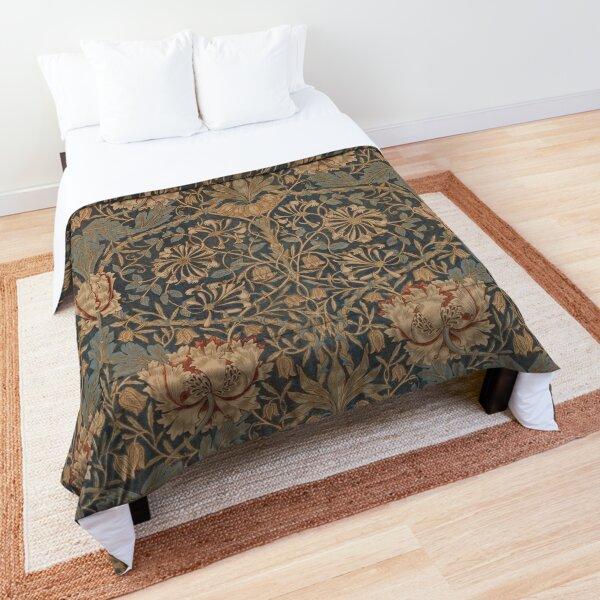 Honeysuckle by William Morris, 1876 Comforter