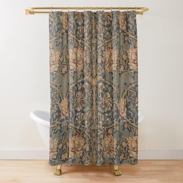 Honeysuckle by William Morris, 1876 Shower Curtain