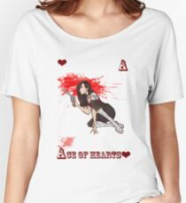 Ace of Hearts Women's Relaxed Fit T-Shirt