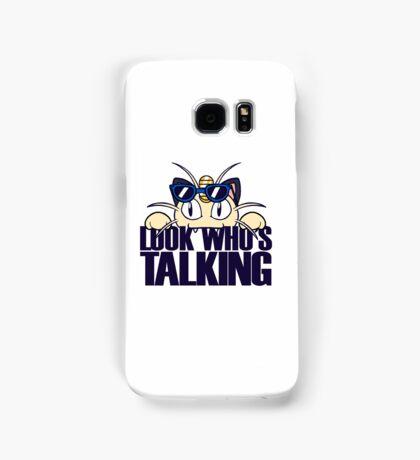 Look Who's Talking Samsung Galaxy Case/Skin