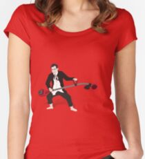 Crazy Dick Women's Fitted Scoop T-Shirt