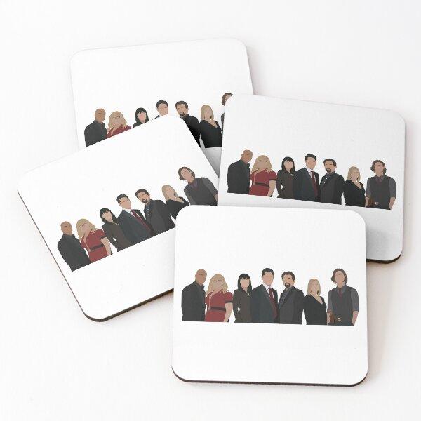 The BAU Coasters (Set of 4)