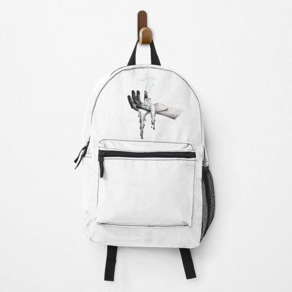 Hand with Candle Wax Backpack
