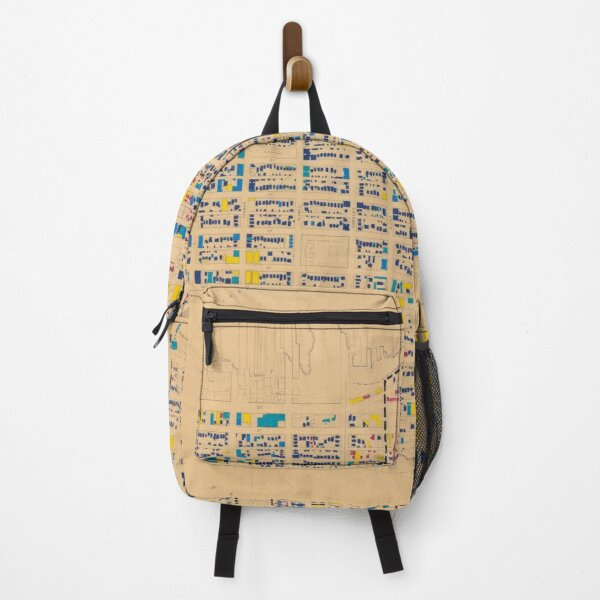 1954 building age map (Downtown/West End) Backpack