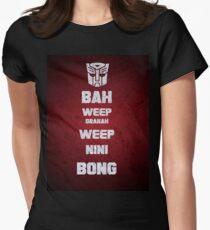 Bah Weep Granah Weep Nini Bong T-shirt Womens Fitted T-Shirt