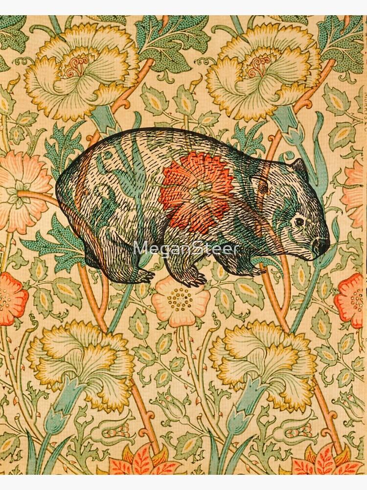Rossetti's Wombat in Yellow by MeganSteer