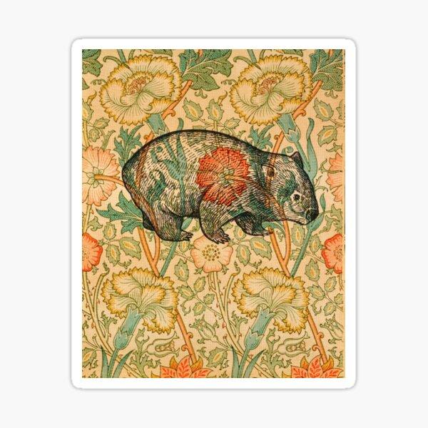 Rossetti's Wombat in Yellow Sticker