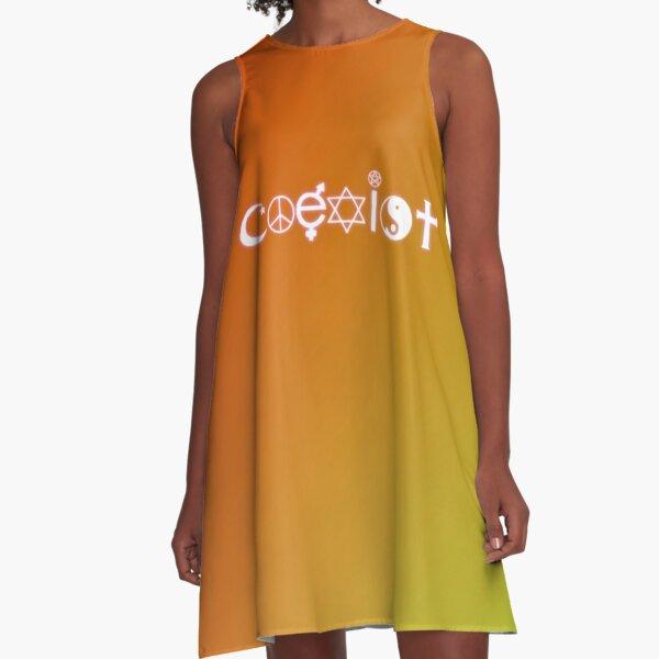 Coexist A-Line Dress