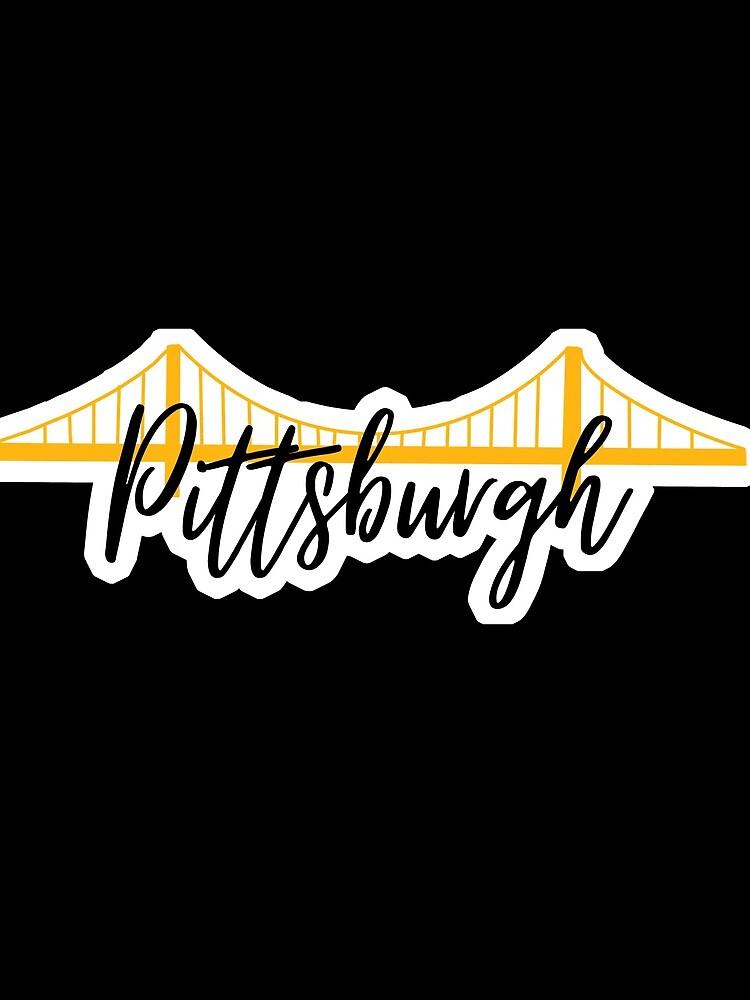 Pittsburgh Bridge City Pride Black by rbaaronmattie