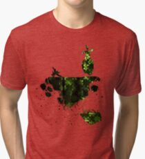 floating earth Tri-blend T-Shirt