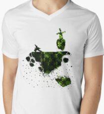 floating earth Men's V-Neck T-Shirt