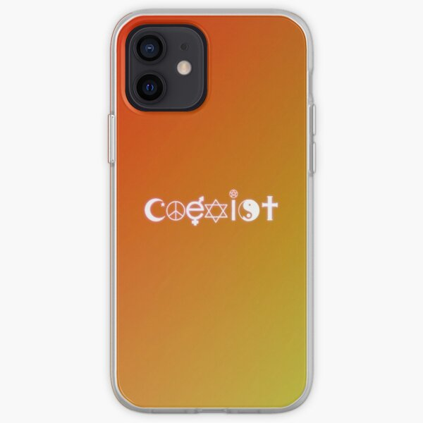 Coexist iPhone Soft Case