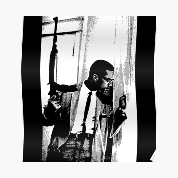 The Malcolm X black heritage artwork Poster
