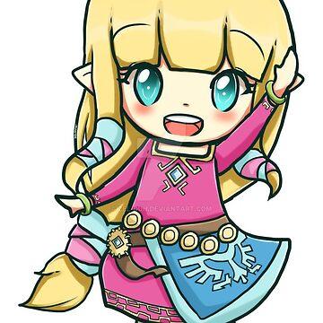 Chibi SW Zelda  by iZelda