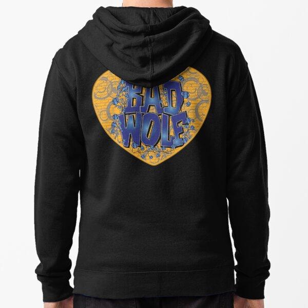 Love The Bad Wolf (Black T-Shirt, Hoodie, Baseball) Zipped Hoodie