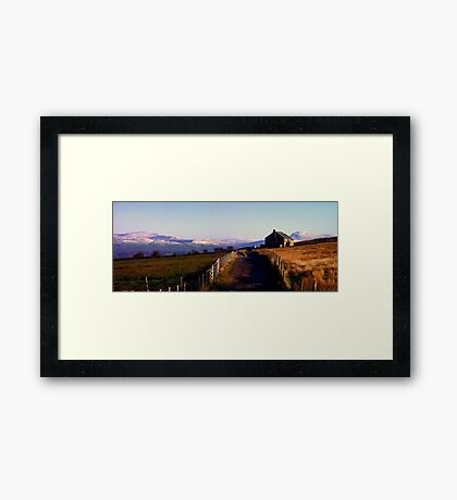 1st Signs of Winter Framed Print