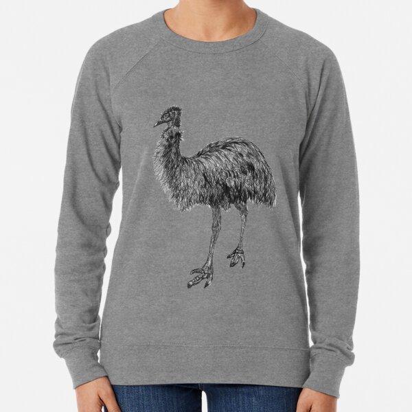 Fluffy the Emu Lightweight Sweatshirt