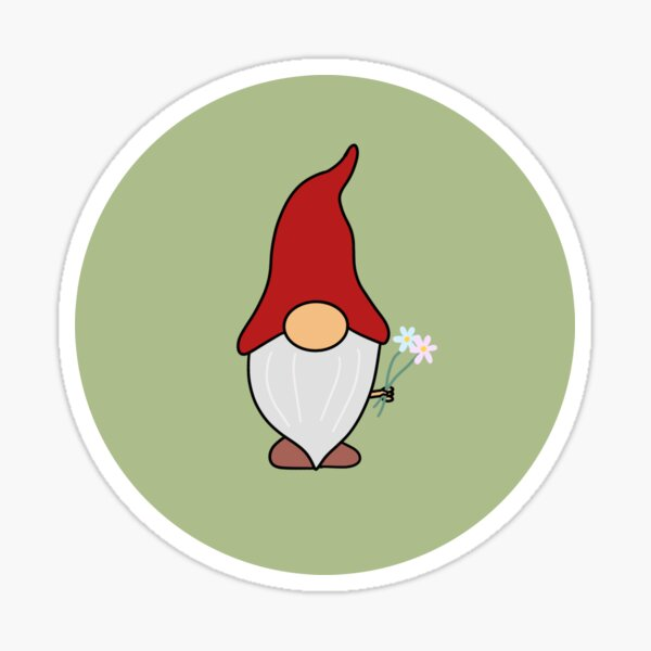 Kind Gnome Sticker