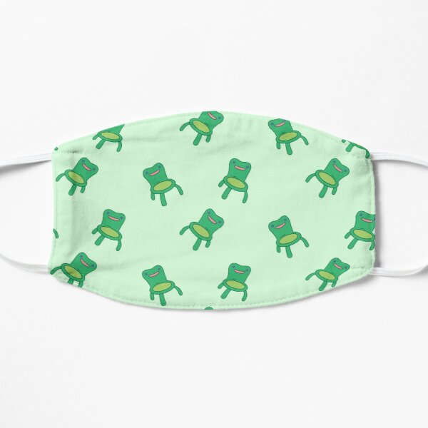 froggy chair pack Flat Mask