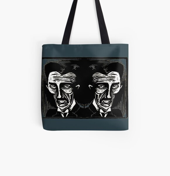 tesla (version 1 double) All Over Print Tote Bag