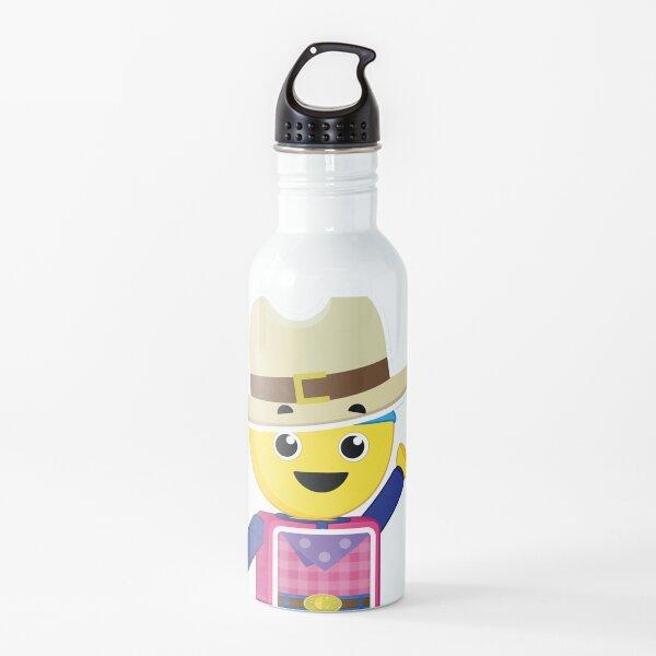 Charlie's Colorforms City - Cowboy Water Bottle
