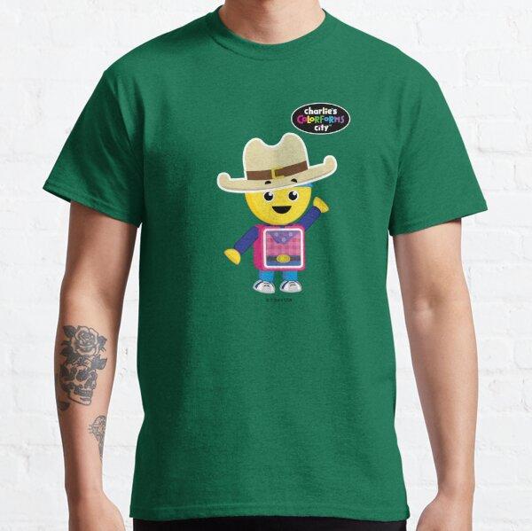 Charlie's Colorforms City - Cowboy Classic T-Shirt