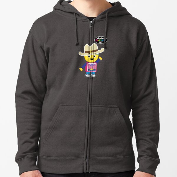 Charlie's Colorforms City - Cowboy Zipped Hoodie