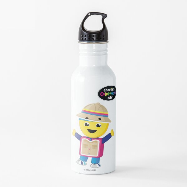 Charlie's Colorforms City - Treasure Hunter Water Bottle