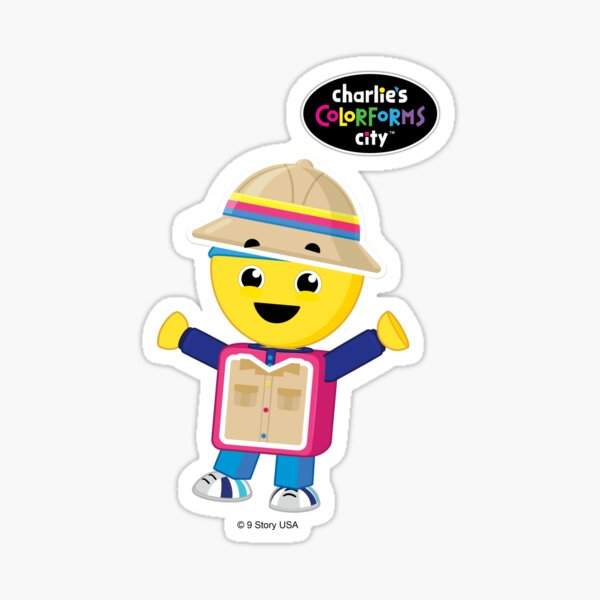 Charlie's Colorforms City - Treasure Hunter Sticker